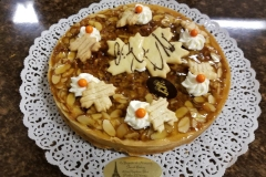 Almond pecan tart