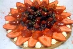 Forestier (mixed berry tart)