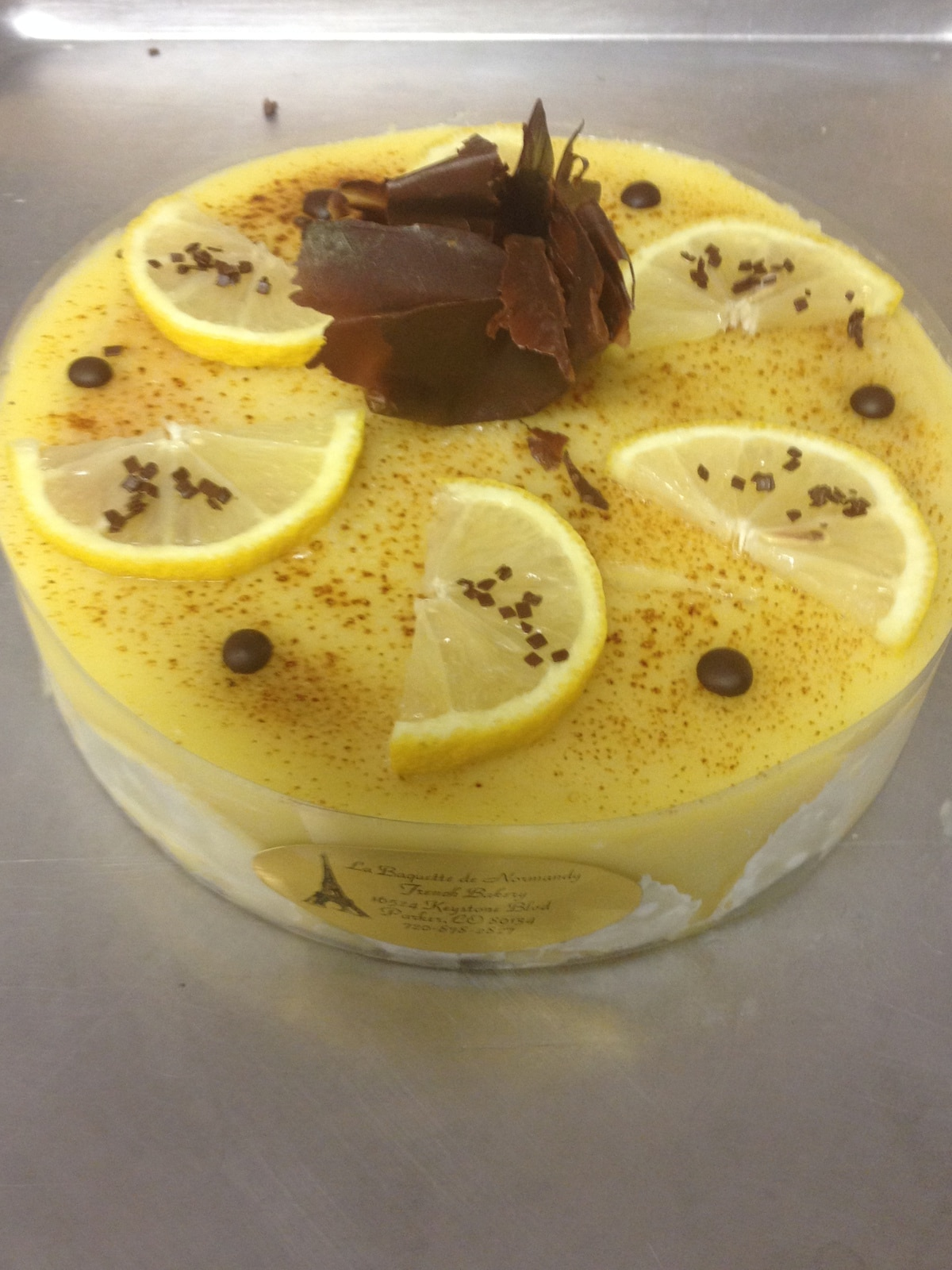 Lemon Cake 6p