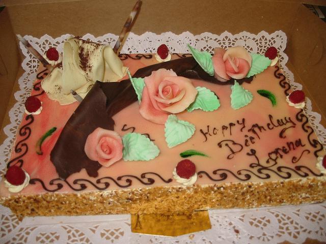Framboisier cake (raspberry)