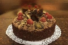 Raspberry delight cake