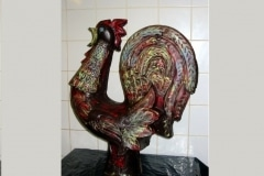 Easter chocolate rooster