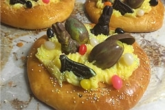 Easter Brioche Custard