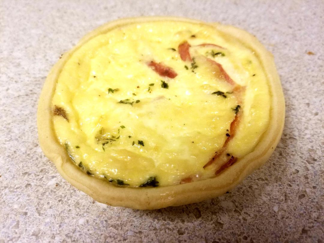 Ham-cheese quiche