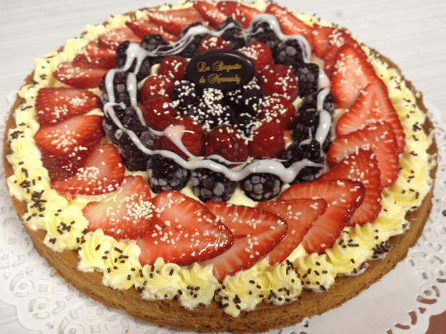 Mixberry Tart 6p