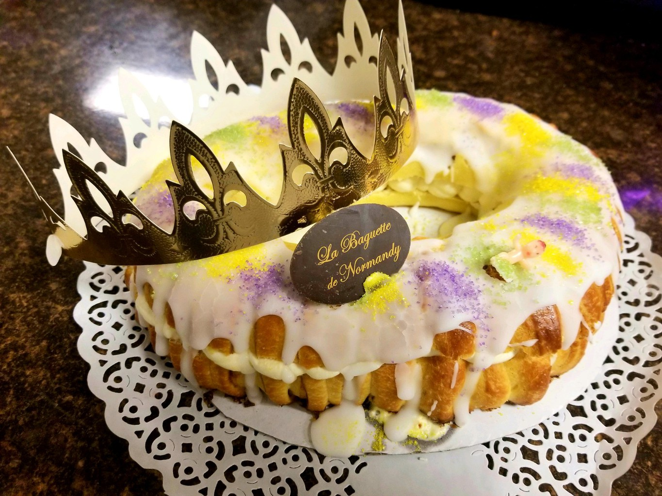 Louisiana King Cake