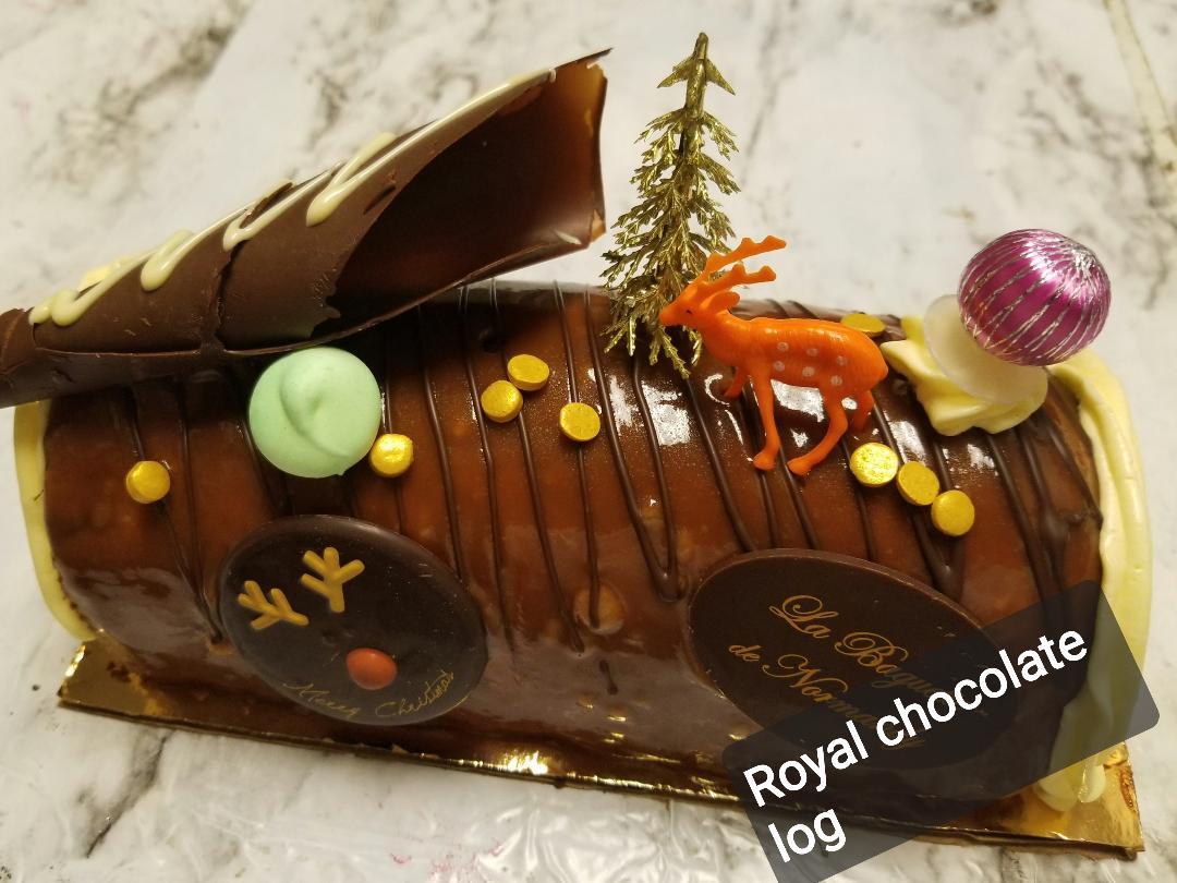 Choco Royal Bûche 6P